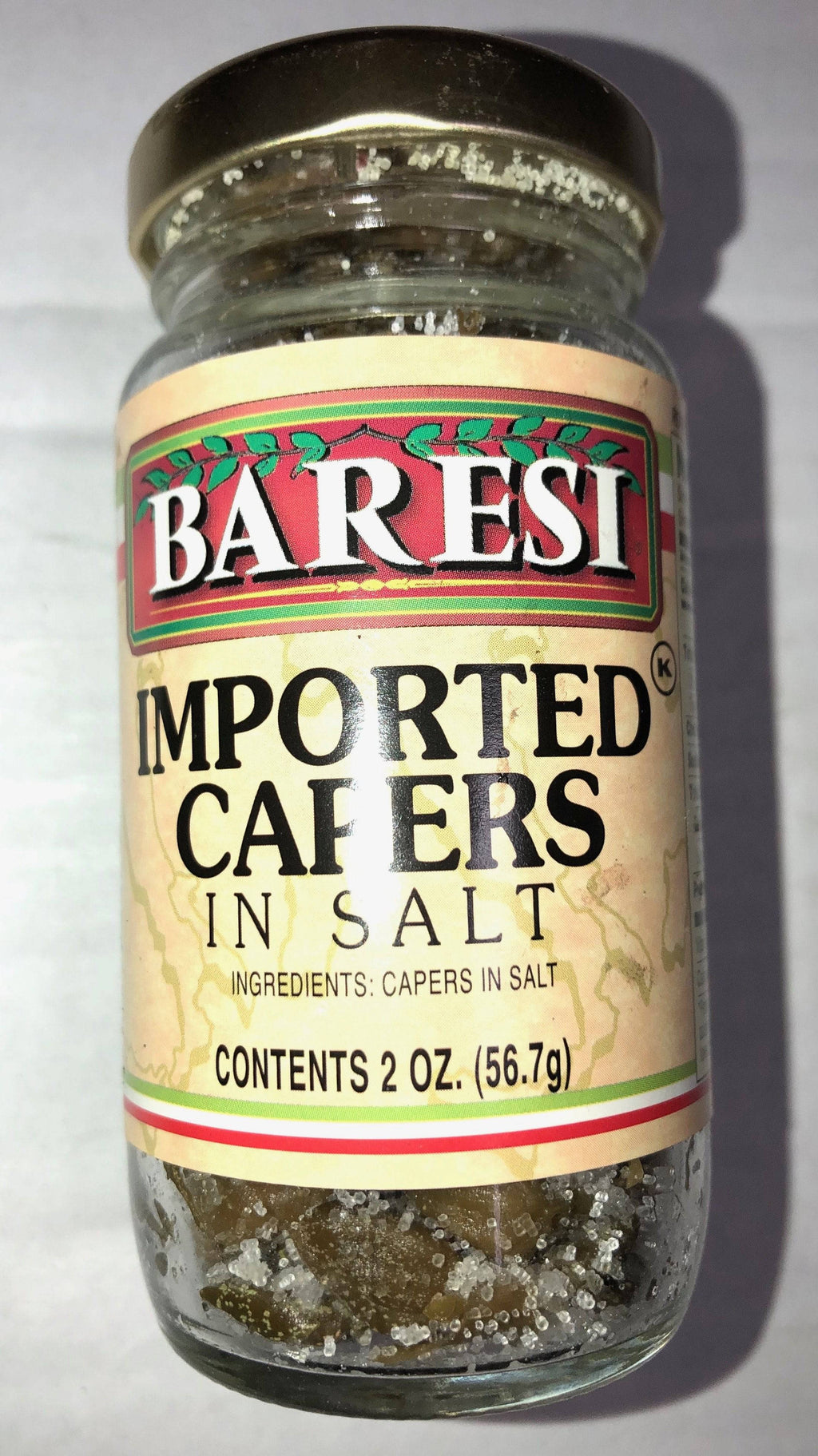 Capers in Salt - Pepper Pantry