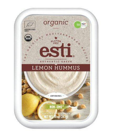 Hummus, Organic Lemon - Esti - Pepper Pantry