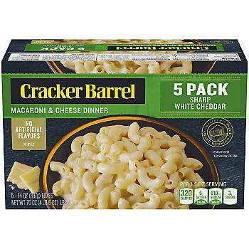 Cracker Barrell Mac & Cheese 5 pack - Pepper Pantry