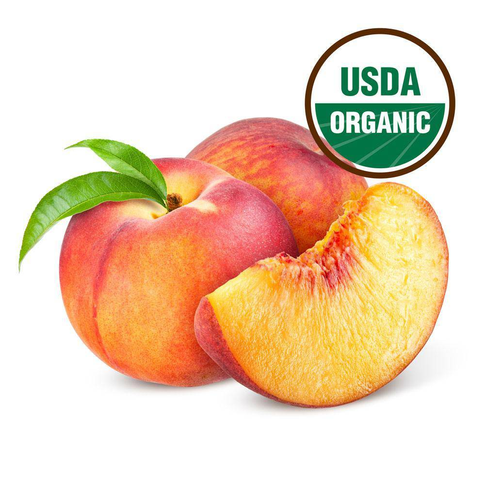 Organic Peaches - 4 Count - Pepper Pantry