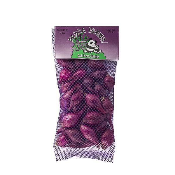 Red pearl Onions 8 oz. Bag - Pepper Pantry