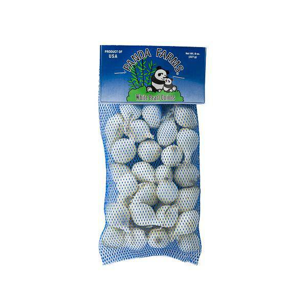 White Pearl Onions 8 oz. Bag - Pepper Pantry