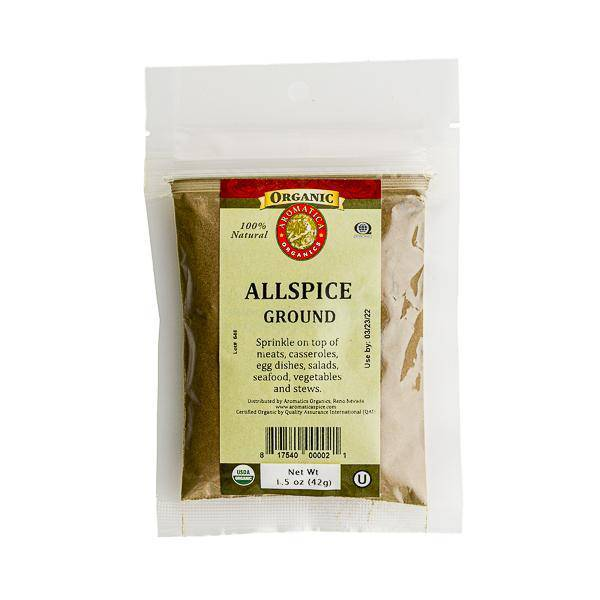 Allspice Organic Ground - Pepper Pantry
