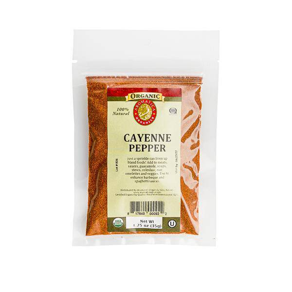 Cayenne Pepper - Organic - Pepper Pantry