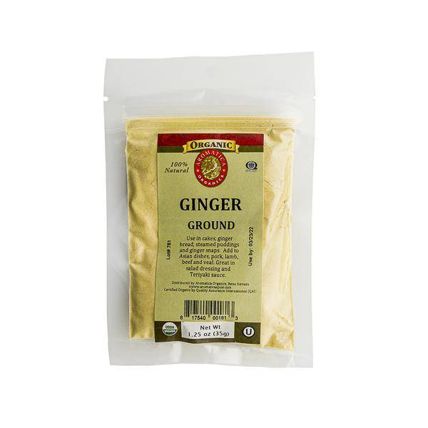 Ginger Ground Organic - Pepper Pantry