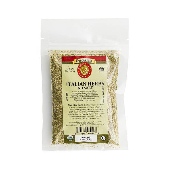 Italian Herb Blend Organic - Pepper Pantry