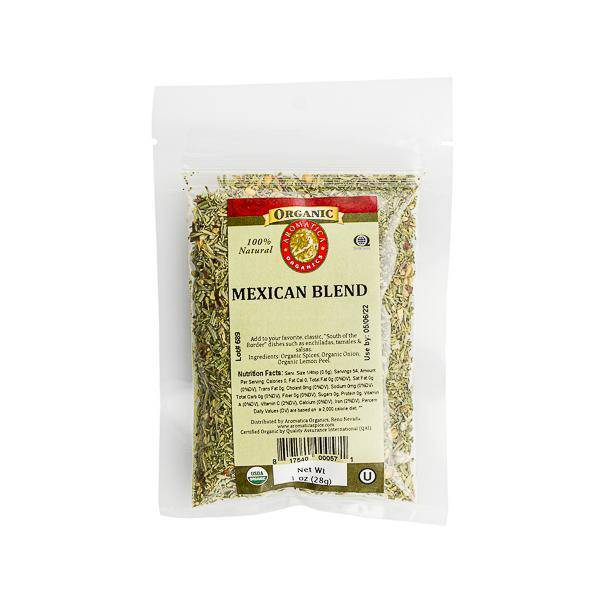 Mexican Blend Organic - Pepper Pantry