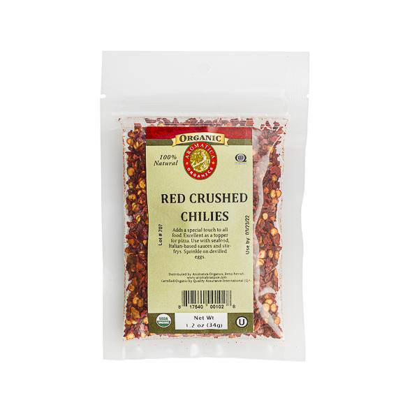 Red Chilis Crushed Organic - Pepper Pantry