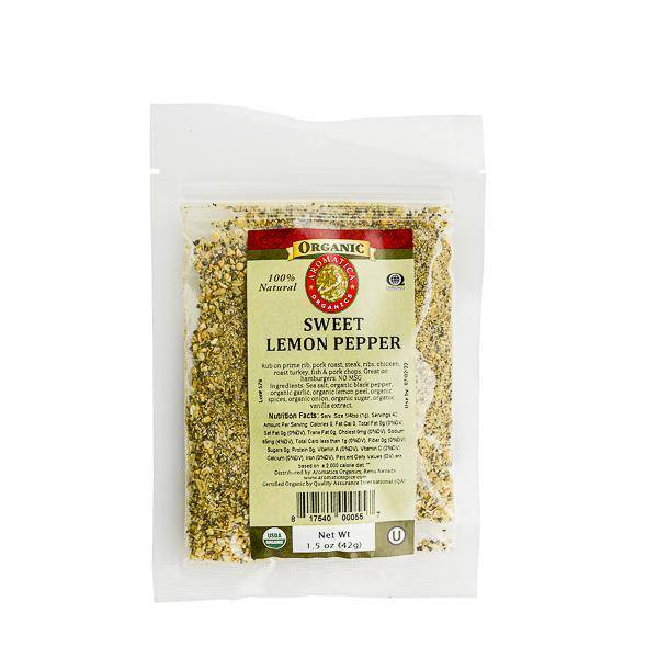 Lemon Pepper Blend Organic - Pepper Pantry