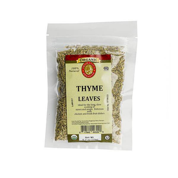 Thyme Ground Organic - Pepper Pantry