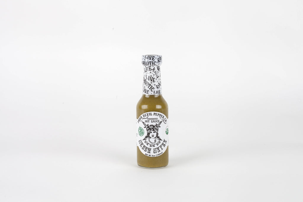 Green Widow Hot Sauce - Pepper Pantry