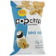 Pop Chips Plain Chips .8 Oz - Pepper Pantry