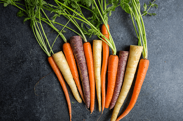 Carrot, Organic Rainbow Cello - Pepper Pantry