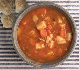 Manhattan Clam Chowder Frozen Pack - Pepper Pantry