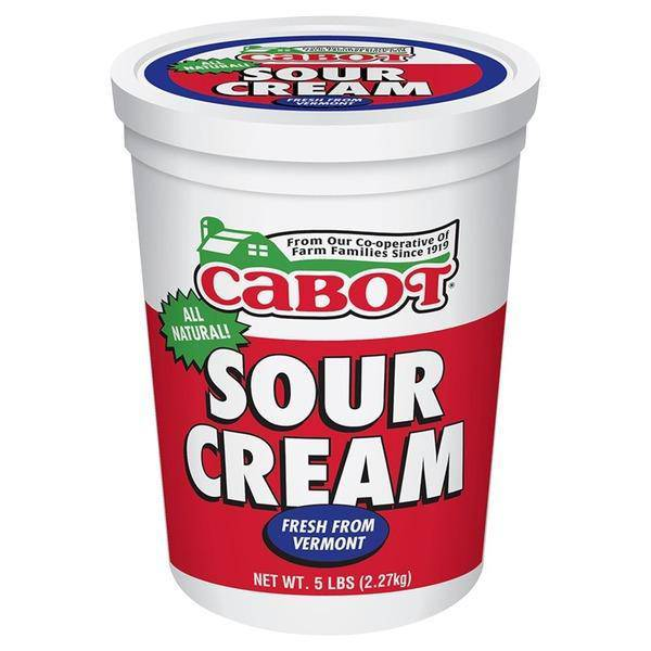 Cabot Sour Cream - 5 lb - Pepper Pantry