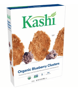 Kashi Organic Blueberry Clusters Cereal