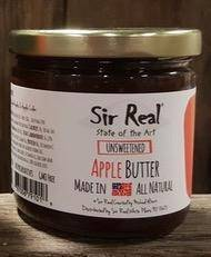 Sir Real Apple Butter - Unsweetened - 8.5 oz. - Pepper Pantry