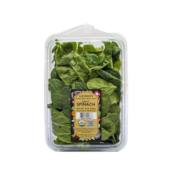 Organic Spinach - Pepper Pantry