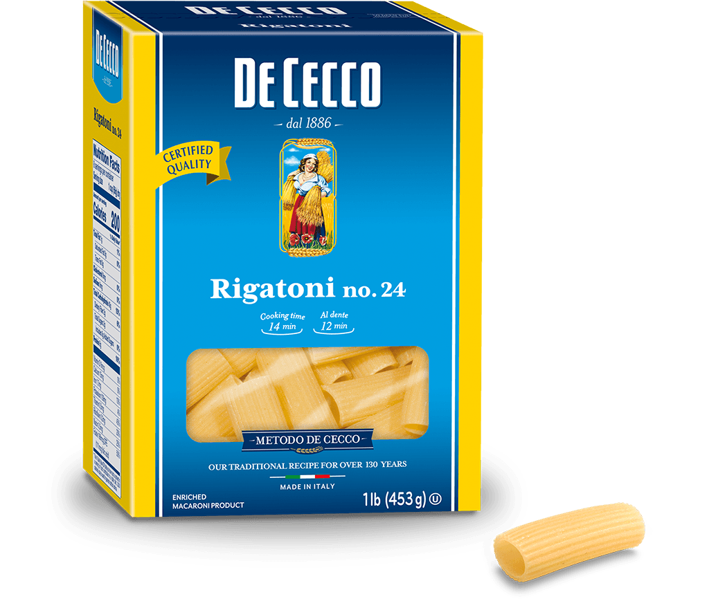 Rigatoni No. 24 - DeCecco - Pepper Pantry