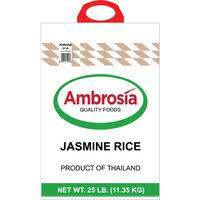 Ambrosia Jasmine Rice 25 Lb - Pepper Pantry