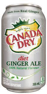 Canada Dry Diet Ginger Ale - Pepper Pantry