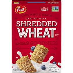 Shredded Wheat Cereal - Pepper Pantry