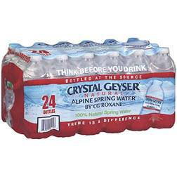 Crystal Geyser Water - 16.9 Oz - Pepper Pantry