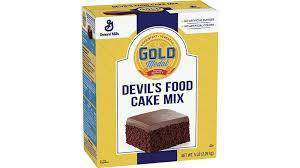 General Mills Devil's Food Cake Mix 5 Lb - Pepper Pantry