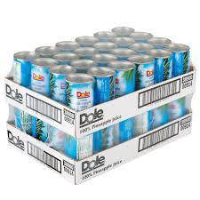 Dole Pineapple Juice 6 Oz Cans - Pepper Pantry