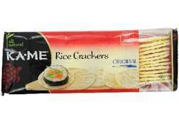 Kame Rice Crackers 4 Oz - Pepper Pantry