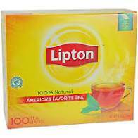 Lipton Tea Bags 100 ct - Pepper Pantry