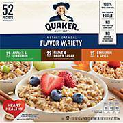Quaker oatmeal packets, assorted flavors - Pepper Pantry