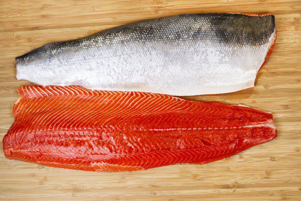 Organic King Salmon Fillet (1 Lb) - Pepper Pantry