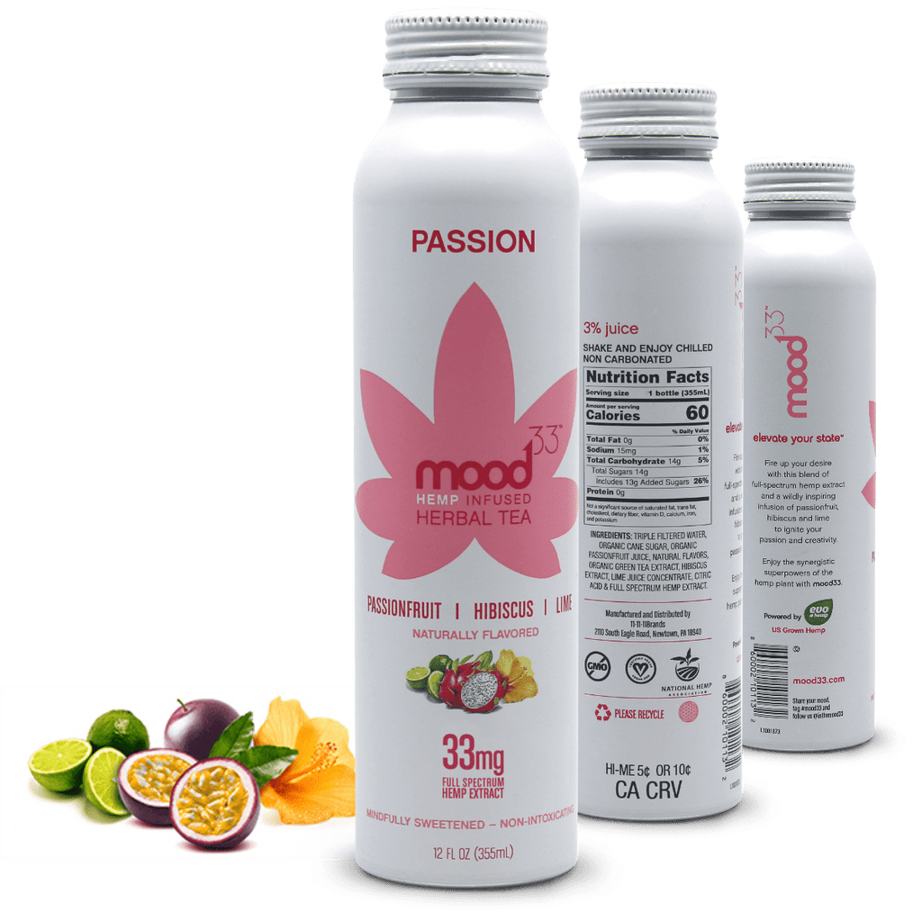MOOD 33 Passion - Passionfruit, Hibiscus, & Lime - 12 oz - Pepper Pantry