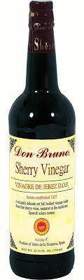 Don Bruno Sherry Wine Vinegar 25 Oz - Pepper Pantry