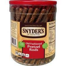 Snyders Pretzel Rods 78 ct - Pepper Pantry