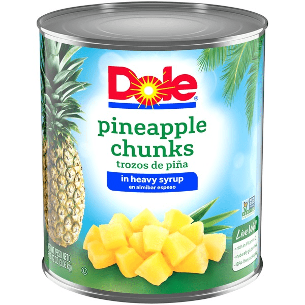 Dole Pineapple Chunks - Pepper Pantry