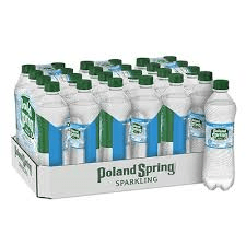 Poland Spring Sparkling Water - 1 Liter - Pepper Pantry