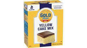 General Mills Yellow Cake Mix 5 Lb - Pepper Pantry