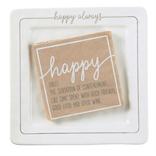 Load image into Gallery viewer, Happy Always Cheese plate Set