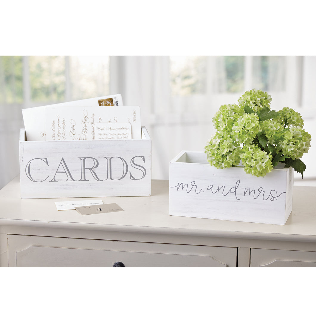 Wedding Card Nested Boxes