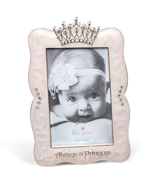 Always a Princess Crown Frame