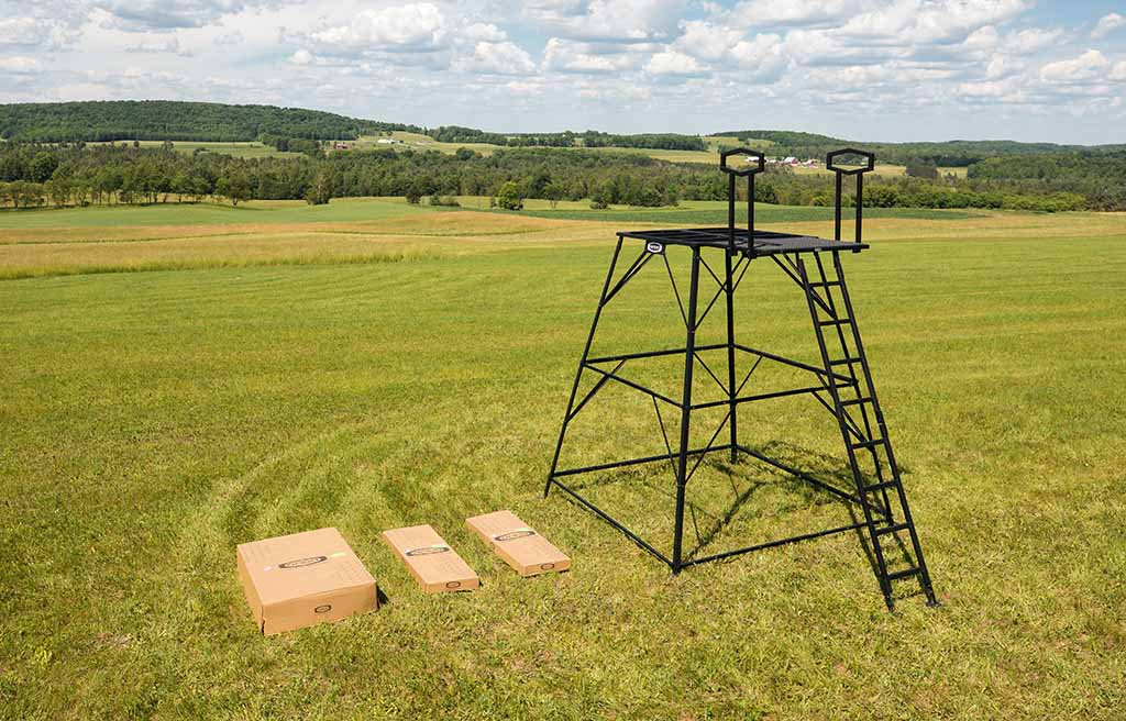 10' Elevated Hunting Stand Tower