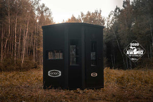 Orion 6x6x6'8 Modular Insulated Hunting Blinds - Top 10 Finalist - MMA Coolest Thing Made in Michigan