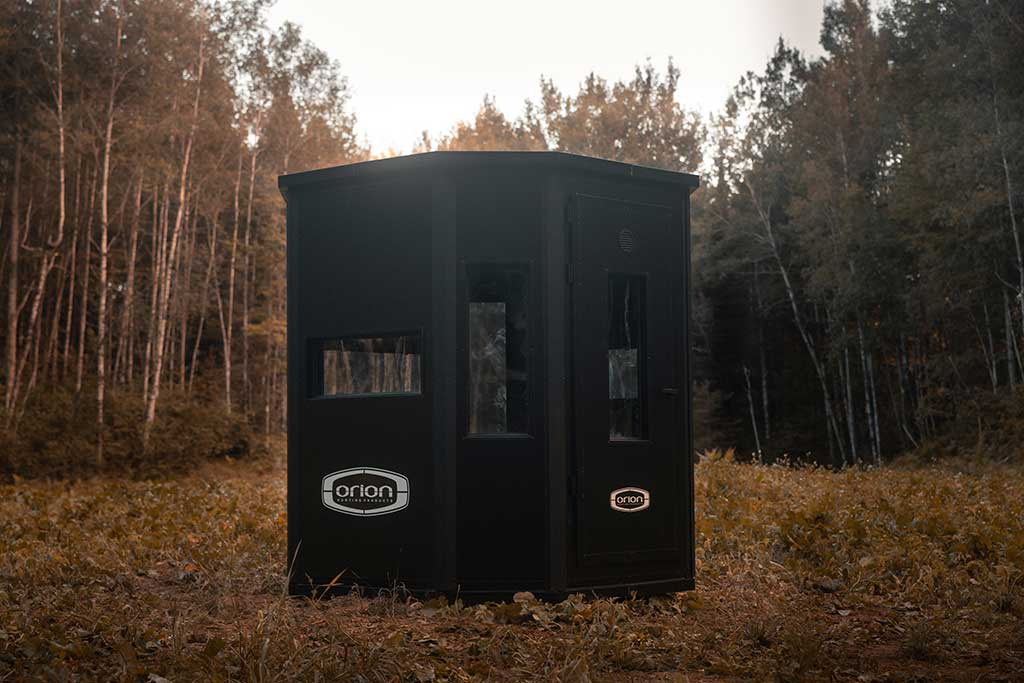 Orion Modular + Insulated Deer Hunting Blind