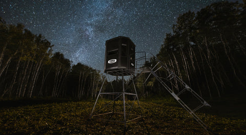 Orion Hunting Blind and Elevated Stand Tower with Stair