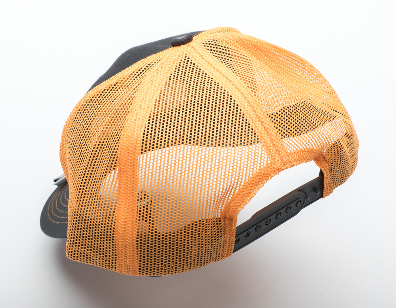 Orion Trucker-Style Cap - Orange Detail