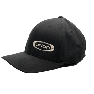 Orion Flexfit Hat with Silver Embroidered Logo