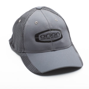 Orion Grey Baseball Cap with Camohex Design