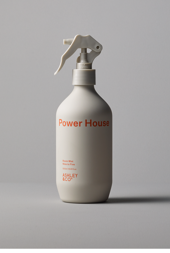 Ashley & Co - Power House Room Mist - Nine to Five